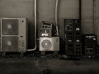 Air Conditioning and Crates in Ota, Japan 2014.