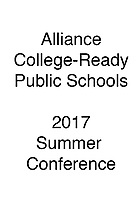 Alliance Summer Conference 2017