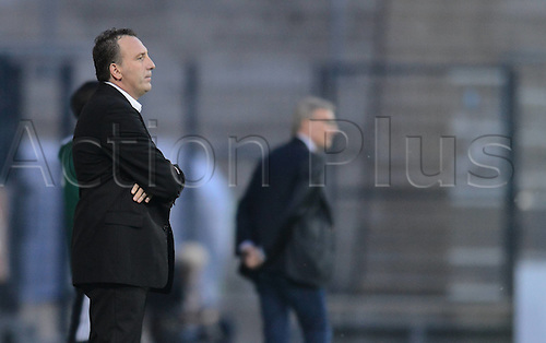 03.06.2016. Volksbank-Stadion, Frankfurt, Germany. International football friendly, Kosovo versus Faroe Islands.  Albert Bunjaki (Trainer Kosovo)