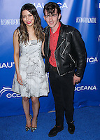 SANTA MONICA, CA, USA - MAY 16: Miranda Cosgrove, Drake Bell at the Nautica And LA Confidential's Oceana Beach House Party held at the Marion Davies Guest House on May 16, 2014 in Santa Monica, California, United States. (Photo by Xavier Collin/Celebrity Monitor)