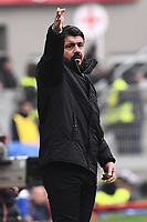 Gennaro Gattuso<br /> Milano 2-12-2018 Stadio San Siro Football Calcio Serie A 2018/2019 AC Milan - Parma Foto Image Sport / Insidefoto