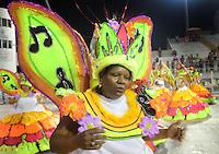 SAO PAULO, SP, 19 DE FEVEREIRO 2012 - CARNAVAL SP - UNIDOS DE SAO LUCAS - Desfile da escola de samba Unidos de Sao Licas na terceira noite do Carnaval 2012 de São Paulo, no Sambódromo do Anhembi, na zona norte da cidade, neste domingo.(FOTO: Adriano Lima  - BRAZIL PHOTO PRESS).