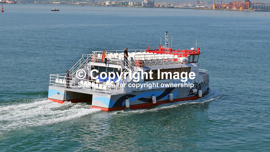 DobleMar, Bahia Tours, sightseeing boat, Santander, Spain, May, 2015, 201505070808<br />