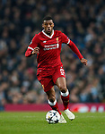 Liverpool's Georgino Wijnaldum in action during the Champions League Quarter Final 2nd Leg match at the Etihad Stadium, Manchester. Picture date: 10th April 2018. Picture credit should read: David Klein/Sportimage