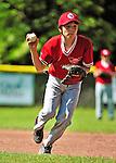 4 June 2011: The Burlington American Expos in Little League action against the Burlington American Reds at Calahan Park in Burlington, Vermont. Mandatory Credit: Ed Wolfstein Photo