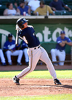 Derrick Alfonso / Helena Brewers in action against the Ogden Raptors in a Pioneer League game in Ogden, UT - 08/10/2008..Photo by:  Bill Mitchell/Four Seam Images