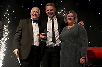 Jamie Porter won player of the year award during the Essex CCC 2017 Awards Evening at The Cloudfm County Ground on 5th October 2017