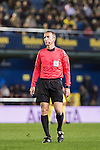 Referee David Fernandez Borbalan in action during their Copa del Rey 2016-17 Round of 16 match between Villarreal and Real Sociedad at the Estadio El Madrigal on 11 January 2017 in Villarreal, Spain. Photo by Maria Jose Segovia Carmona / Power Sport Images