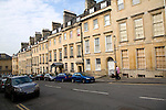 Georgian terraced houses, Russel Street, Bath