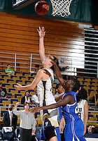 Florida International University guard Fanni Hutlassa (10) plays against Lynn University.  FIU won the game 68-30 on November 30, 2011 at Miami, Florida. .