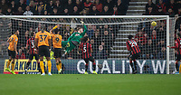 Wolverhampton Wanderers' Joao Moutinho scores his side's first goal  <br /> <br /> Photographer David Horton/CameraSport<br /> <br /> The Premier League - Bournemouth v Wolverhampton Wanderers - Saturday 23rd November 2019 - Vitality Stadium - Bournemouth<br /> <br /> World Copyright © 2019 CameraSport. All rights reserved. 43 Linden Ave. Countesthorpe. Leicester. England. LE8 5PG - Tel: +44 (0) 116 277 4147 - admin@camerasport.com - www.camerasport.com