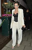 Rita Ora spotted at Italian restaurant Harry's Bar in London.<br /> <br /> DECEMBER 2nd 2019<br /> <br /> REF: LTN 194244 .<br /> Credit: Matrix/MediaPunch ***FOR USA ONLY***
