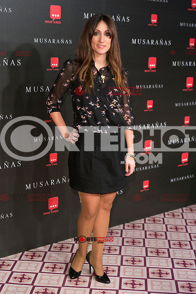 "Ana Morgade attend the Premiere of the movie ""Musaranas"" in Madrid, Spain. December 17, 2014. (ALTERPHOTOS/Carlos Dafonte) /NortePhoto /NortePhoto.com"