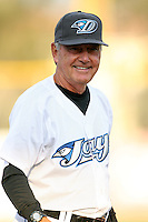 April 10th 2009:  Pitching Coach Darold Knowles of the Dunedin Blue Jays, Florida State League Class-A affiliate of the Toronto Blue Jays, during a game at Dunedin Stadium in Dunedin, FL.  Photo by:  Mike Janes/Four Seam Images