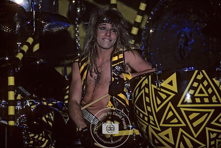 STRYPER Stryper in 1987 in Las Vegas Stryper <br /> Las Vegas<br /> Jan 1987