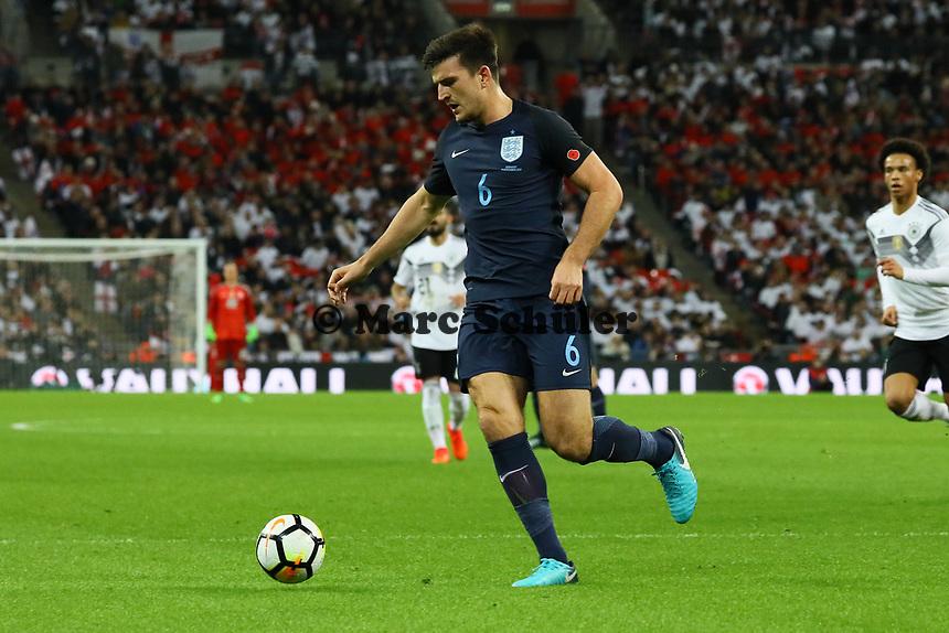 Harry Maguire (England) - 10.11.2017: England vs. Deutschland, Freundschaftsspiel, Wembley Stadium
