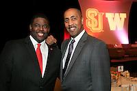 Alumni Downtown Breakfast 2012 - SU and UW cross town friends and rivals