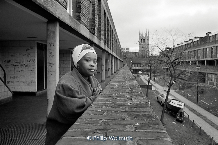 Dora Boatemah, Chair of the Tenants' Association on Angell Town Estate  in Brixton, London, was awarded an MBE in 1994 for services to the community.  She died in 2001.