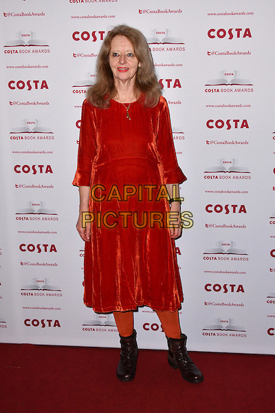 Kate Kellaway<br /> Costa Book Of The Year Award 2016, at Quaglino&rsquo;s, London, England on January 31, 2017.<br /> CAP/JOR<br /> &copy;JOR/Capital Pictures