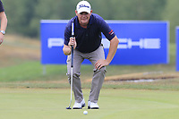 David Drysdale (SCO) on the 12th green during Saturday's Round 3 of the Porsche European Open 2018 held at Green Eagle Golf Courses, Hamburg Germany. 28th July 2018.<br /> Picture: Eoin Clarke | Golffile<br /> <br /> <br /> All photos usage must carry mandatory copyright credit (&copy; Golffile | Eoin Clarke)