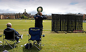 West of Scotland CC V Uddingston CC, Scottish National Cricket League, Premier Div, at Hamilton Cres, Glasgow - spectators bask in the intermittant sunshine, and celebrate as wickets fall - Picture by Donald MacLeod - 20 May 09