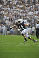 01 September 2012:  Penn State LB Michael Mauti (42)..The Ohio Bobcats defeated the Penn State Nittany Lions 24-14 at Beaver Stadium in State College, PA..