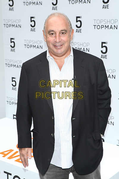 NEW YORK - November 5: Sir Philip Green  attends the Topshop Topman New York City Flagship Grand Opening on November 5, 2014 in New York City. <br /> CAP/MPI/MPI99<br /> &copy;MPI99/MPI/Capital Pictures