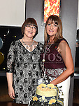 Deirdre McCabe celebrating her 50th birthday in Brú with her sister inlaw Ena Walsh. Photo:Colin Bell/pressphotos.ie