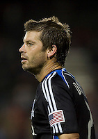 Eric Denton. San Jose Earthquakes defeated Houston Dynamo 3-2 at Buck Shaw Stadium in Santa Clara, California on March 28th, 2009.