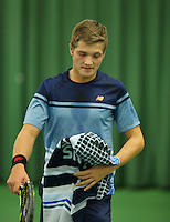 Rotterdam, The Netherlands, March 18, 2016,  TV Victoria, NOJK 14/18 years, Bart Stevens (NED)<br /> Photo: Tennisimages/Henk Koster