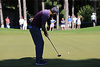 Padraig Harrington (IRL) putts on the 3rd green during Friday's Round 2 of the 2018 Turkish Airlines Open hosted by Regnum Carya Golf &amp; Spa Resort, Antalya, Turkey. 2nd November 2018.<br /> Picture: Eoin Clarke | Golffile<br /> <br /> <br /> All photos usage must carry mandatory copyright credit (&copy; Golffile | Eoin Clarke)