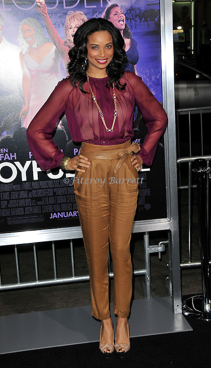 Rochelle Aytes at the premiere of Joyful Noise held at Grauman's  Chinese Theatre in Hollywood, CA. January 9, 2012