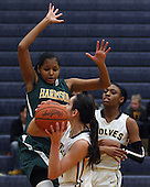 Farmington Hills Harrison at Clarkston, Girls Varsity Basketball, 1/16/14