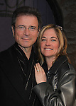 One Life To Live's Kassie DePaiva came to see James DePaiva as he stars in Nightmare Alley - a new musical - on April 2, 2011 at the Players Theatre, New York City, New York. James stars with Nickki Switzer, Dominique Plaisant, Zonya Love, Sheila Coyle, Jeremiah James, Joseph Dellger along with Steven Landau (Musical Director/Pianist) (L), Stella Berg (Stage Manager) & Barbara Ligeti & Jonathan Brielle (Book writer, Composer & Lyricist).  (Photo by Sue Coflin/Max Photos)