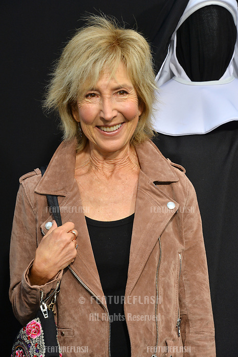 "LOS ANGELES, CA. September 04, 2018: Lin Shaye at the world premiere of ""The Nun"" at the TCL Chinese Theatre, Hollywood."