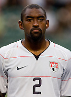 Marvell Wynne. The USMNT tied the Ivory Coast, 0-0, while playing in the ING Cup at Hong Kong Stadium.