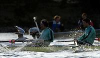 PUTNEY, LONDON, ENGLAND, 05.03.2006, Birds eye view [seagull] Pre 2006 Boat Race Fixtures,.   © Peter Spurrier/Intersport-images.com.[Mandatory Credit Peter Spurrier/ Intersport Images] Varsity Boat Race, Rowing Course: River Thames, Championship course, Putney to Mortlake 4.25 Miles