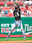 20 June 2010: Chicago White Sox shortstop Alexei Ramirez in action during a game against the Washington Nationals at Nationals Park in Washington, DC. The White Sox swept the Nationals winning 6-3 in the last game of their 3-game interleague series. Mandatory Credit: Ed Wolfstein Photo