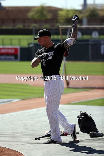 Brett Lawrie - Chicago White Sox 2016 spring training (Bill Mitchell)
