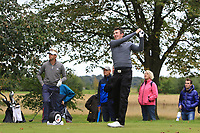 James Maw (ENG) on the 9th tee during Round 4 of the Bridgestone Challenge 2017 at the Luton Hoo Hotel Golf &amp; Spa, Luton, Bedfordshire, England. 10/09/2017<br /> Picture: Golffile | Thos Caffrey<br /> <br /> <br /> All photo usage must carry mandatory copyright credit     (&copy; Golffile | Thos Caffrey)