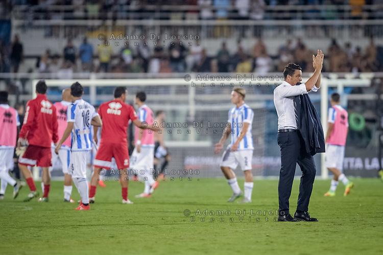 Massimo Oddo (Pescara) during the Italian Serie A football match Pescara vs SSC Napoli on August 21, 2016, in Pescara, Italy. Photo by Adamo Di Loreto
