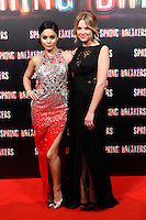 Vanessa Hudgens and Ashley Benson attends 'Spring Breakers' photocall premiere at Callao Cinema in Madrid, Spain. February 21, 2013. (ALTERPHOTOS/Caro Marin) /NortePhoto