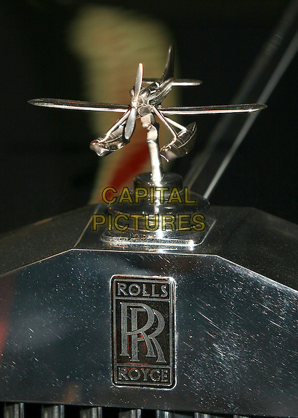 """NICOLAS CAGE'S ROLLS ROYCE'S HOOD ORNAMENT.""""Hats Off For Cancer"""" Benefit Party at Sugar Boutique, Hollywood, California, USA..May 9th, 2007.car black nicholas.CAP/ADM/BP.©Byron Purvis/AdMedia/Capital Pictures"""