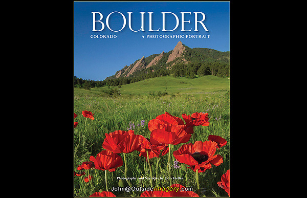 Visit my Home Page to see the entire book.<br /> It was wonderful to be asked to re-photograph my classic book on Boulder.  I provided all new photography and writing for: &quot;Boulder, Colorado: A Photographic Portrait.&quot;  A hardcover book with 165 captioned, color photos.<br /> Published by:  TwinLightsPub.com (May 2018)