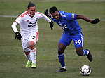 Reno 1868 FC plays Orange County SC in their season opener in Reno, Nev., on Saturday, March 9, 2019. The match ended in a 2-2 tie. <br /> Photo by Cathleen Allison/Nevada Momentum