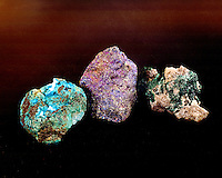 MALACHITE, BORNITE &amp; CHRYSOCOLLA<br />