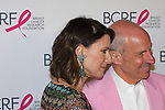 "Lizzie Tisch and Jonathan Tisch attend The Breast Cancer Research Foundation ""Super Nova"" Hot Pink Party on May 12, 2017 at the Park Avenue Armory in New York City."