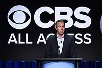 "BEVERLY HILLS - AUGUST 1: CBS Interactive President and COO Marc DeBevoise onstage during the ""CBS All Access Executive"" panel at the CBS All Access portion of the Summer 2019 TCA Press Tour at the Beverly Hilton on August 1, 2019 in Los Angeles, California. (Photo by Frank Micelotta/PictureGroup)"