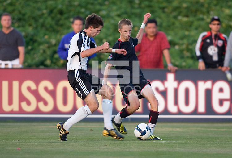 2009 US Soccer Academy Showcase Finals at Home Depot Center in Carson, California July 17, 2009. ..