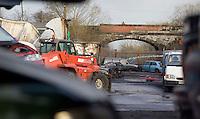 26/3/2009 Scrap yard fire